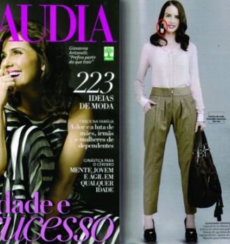Revista Claudia - Abril de 2012