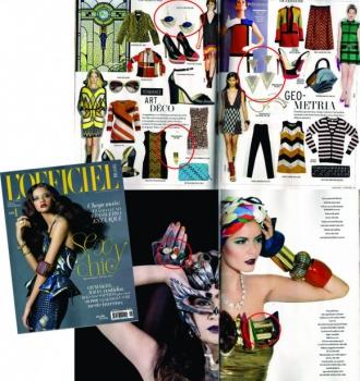 Revista L'officiel Brasil - Junho de 2012